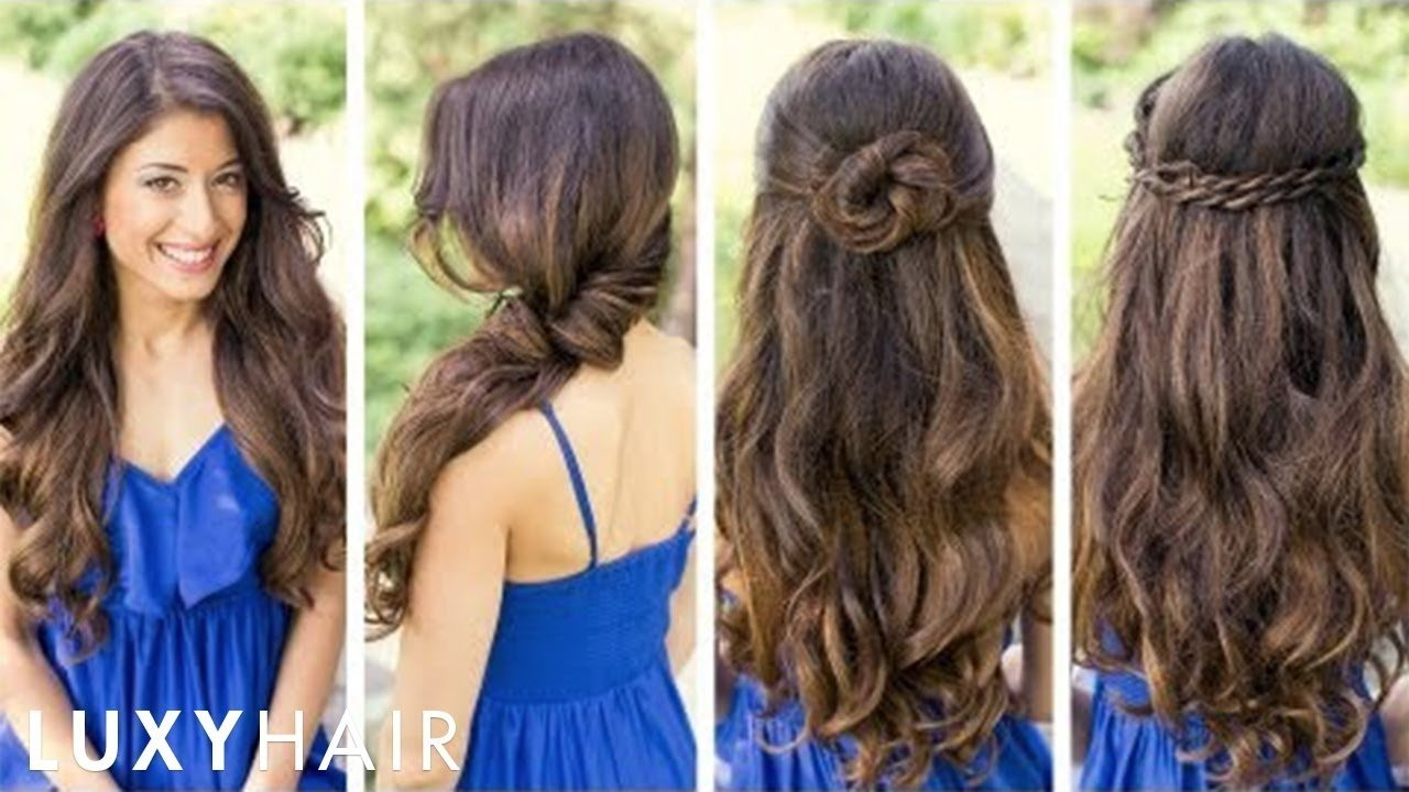 10 Elegant Cool Hair Ideas For Long Hair cute and easy hairstyles youtube 2021