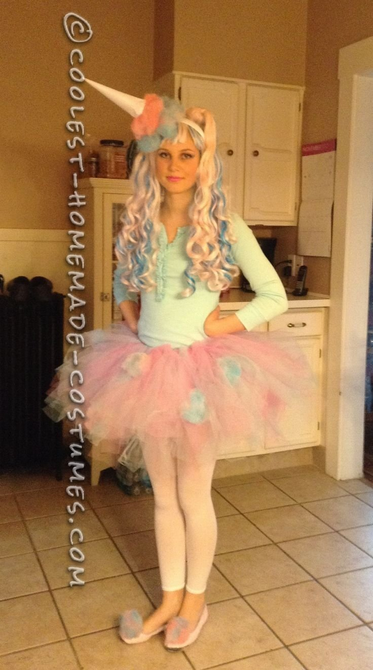 10 Unique Cute Halloween Costume Ideas For Girls cute and sassy homemade cotton candy costume cute girl halloween