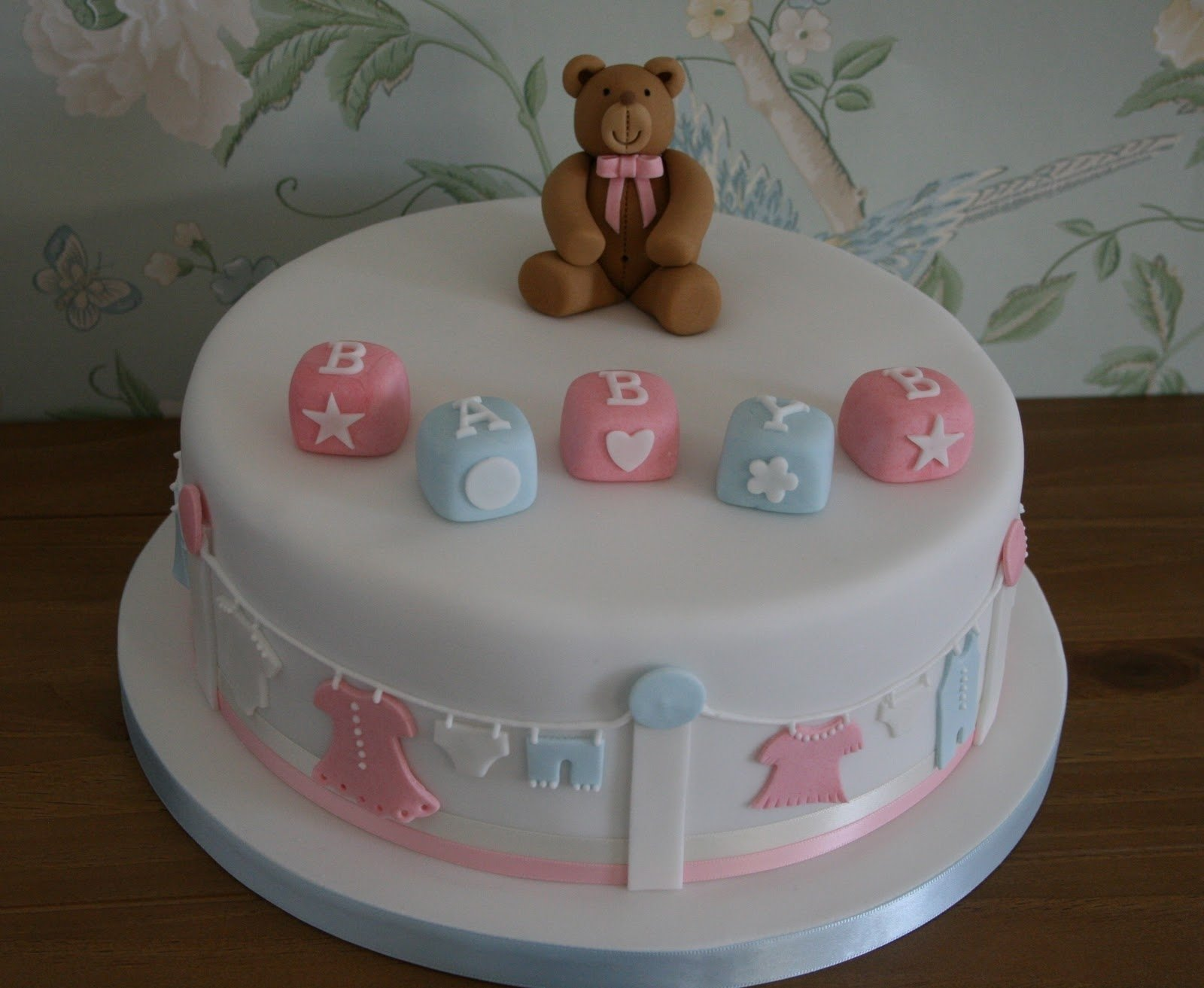 10 Wonderful Ideas For Baby Shower Cakes cute baby shower cake ideas omega center ideas for baby 1 2020