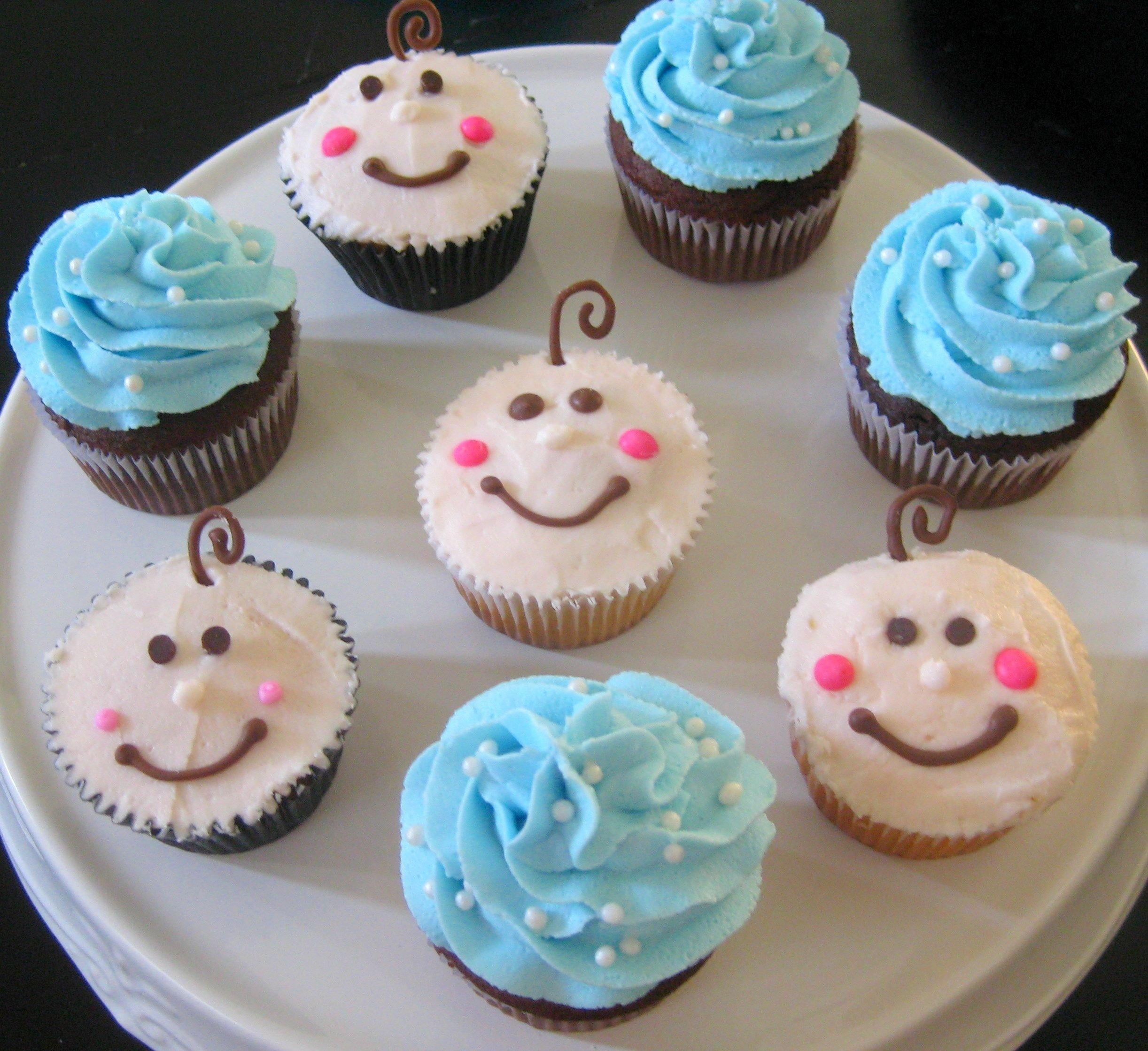 10 Fantastic Boy Baby Shower Cupcake Ideas cute baby shower cupcakes for boys baby shower cake pinterest 2