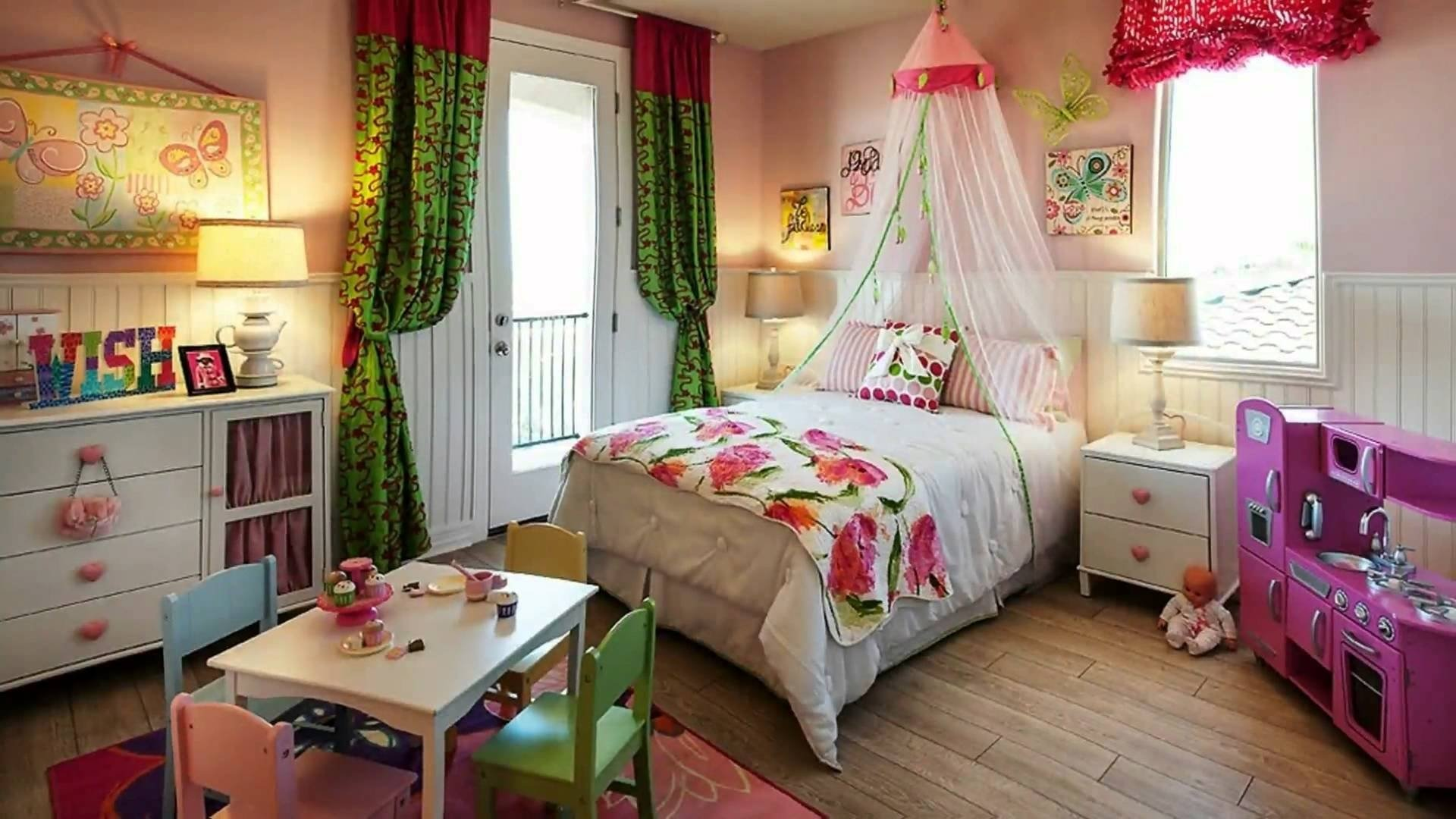 cute bedroom ideas for little girls - youtube