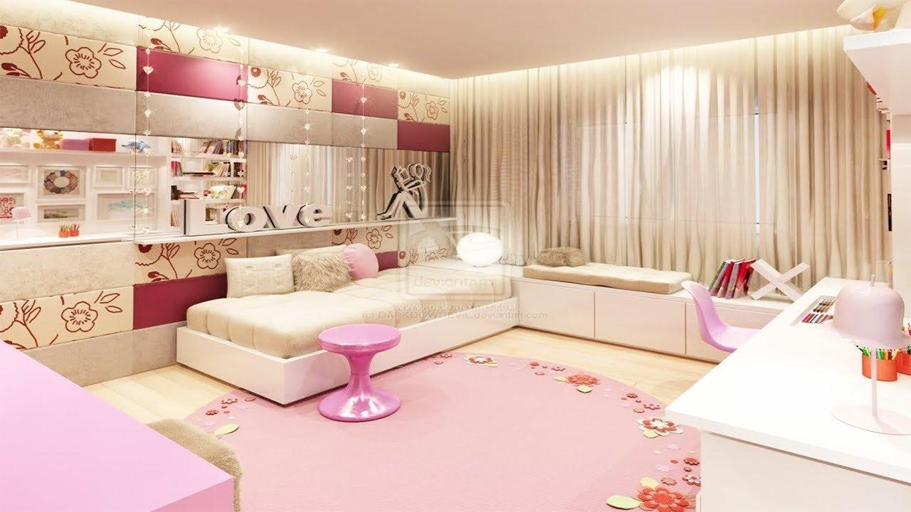 10 Lovable Cute Bedroom Ideas For Girls cute bedroom ideas for teenage girls youtube 3 2020