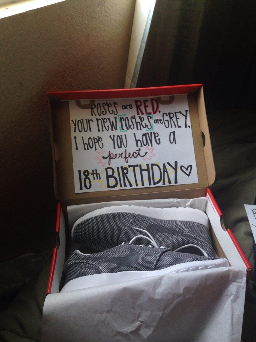 10 Nice 18Th Birthday Ideas For Guys Cute Present Idea Random Birthdays