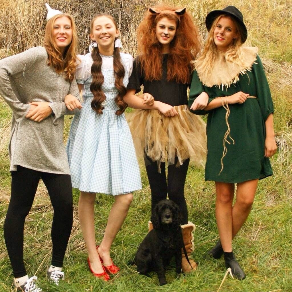 10 elegant costume ideas for groups of 4 cute costume idea for teen girls halloween costumes