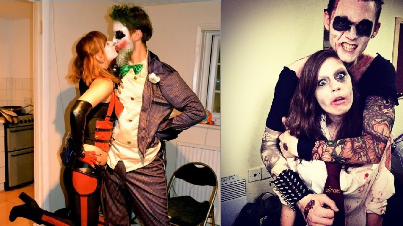 cute couples with halloween costumes - youtube