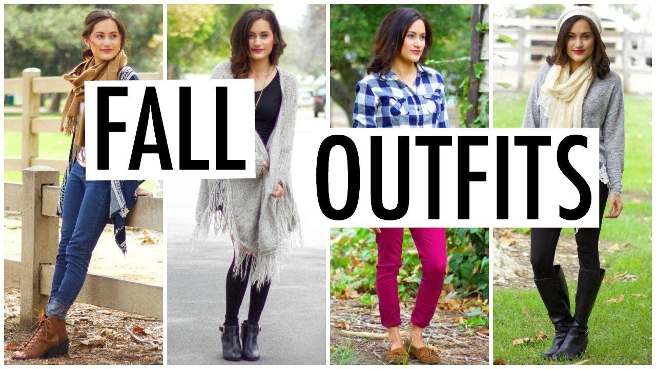 10 Awesome Outfit Ideas For Family Pictures cute cozy fall outfit ideas 2015 youtube