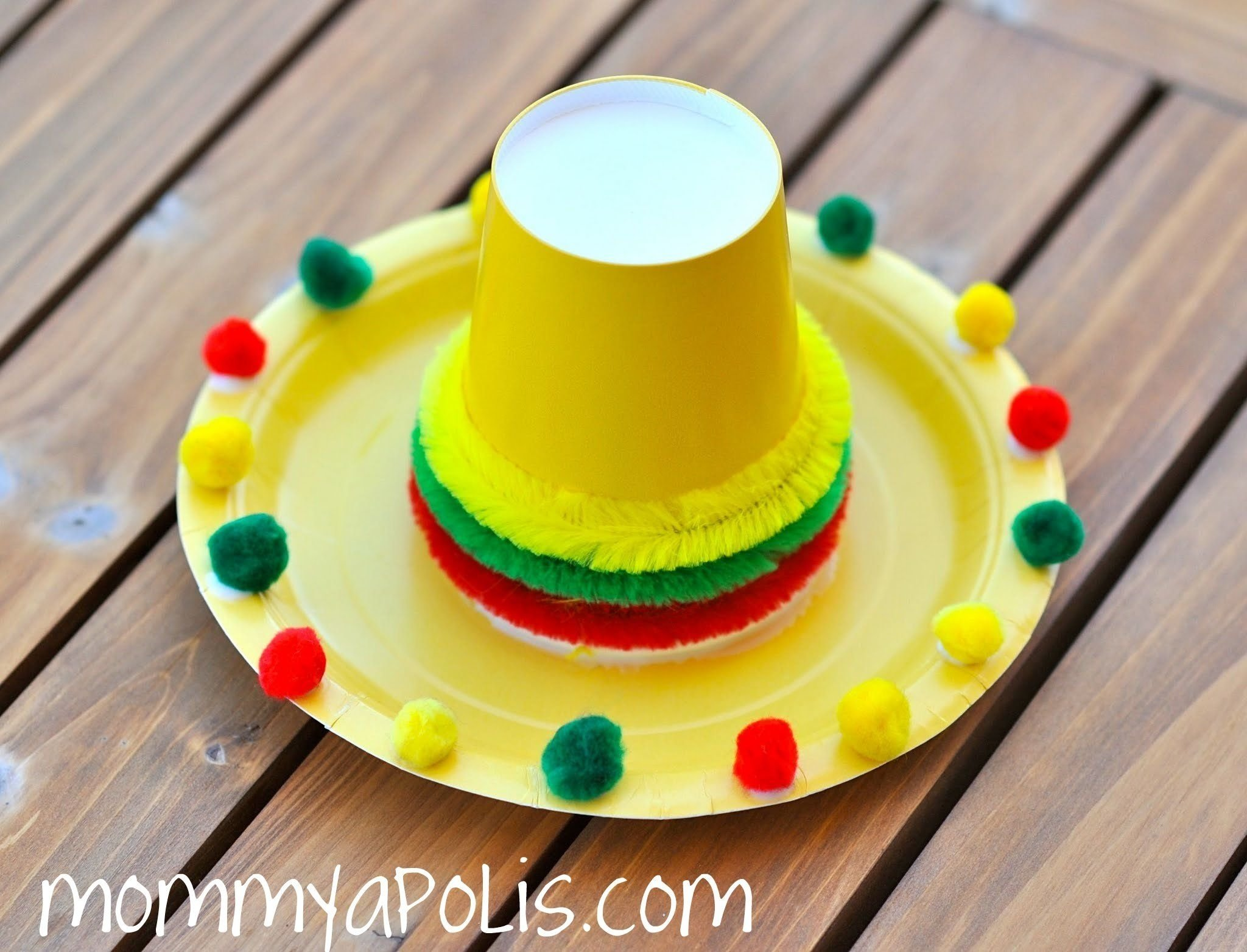 cute craft for cinco de mayo. | crafts for kids | pinterest | cinco