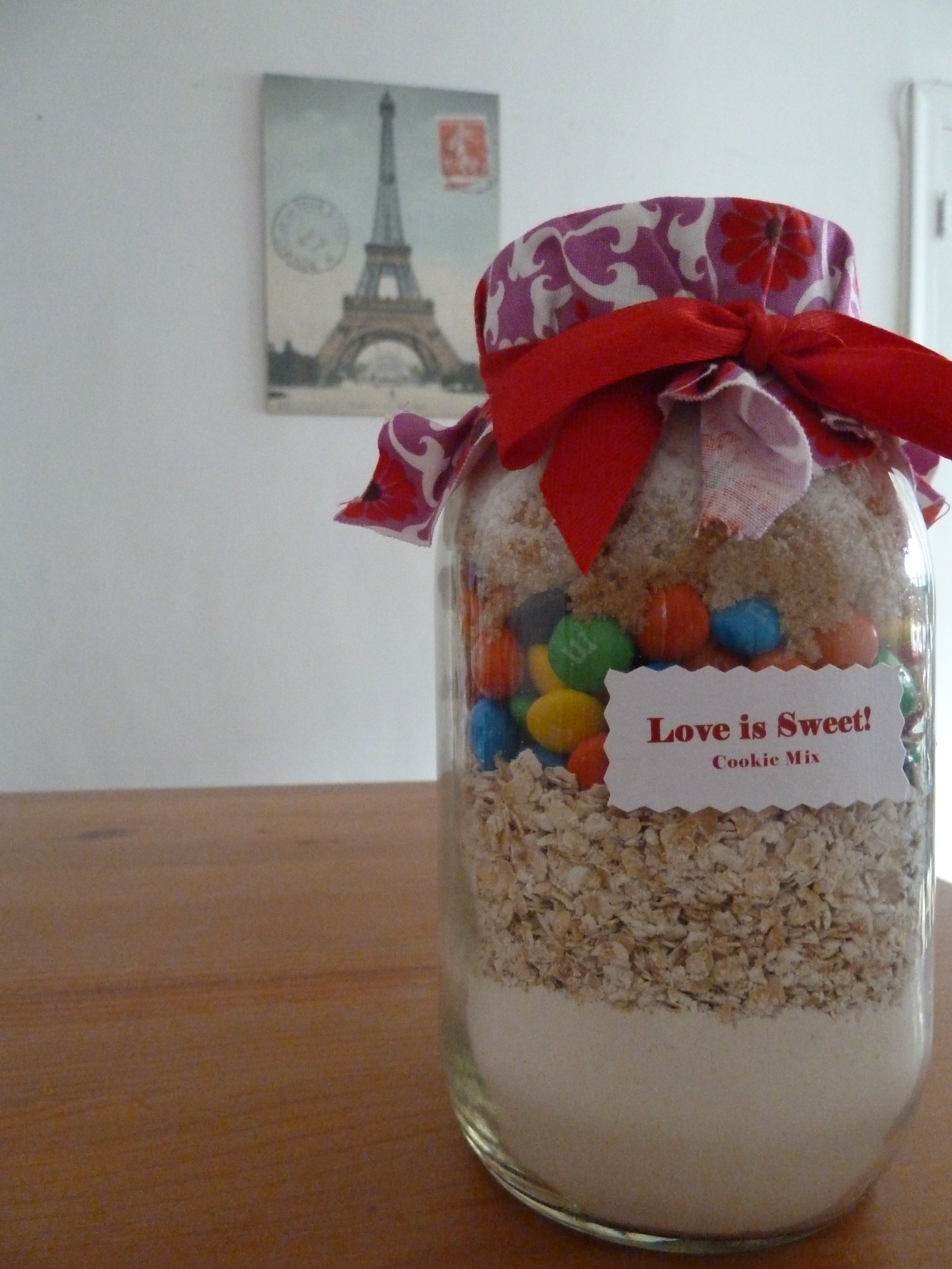 10 Most Popular Homemade Bridal Shower Gift Ideas cute diy bridal shower favor love is sweet cookie mix a favor 1
