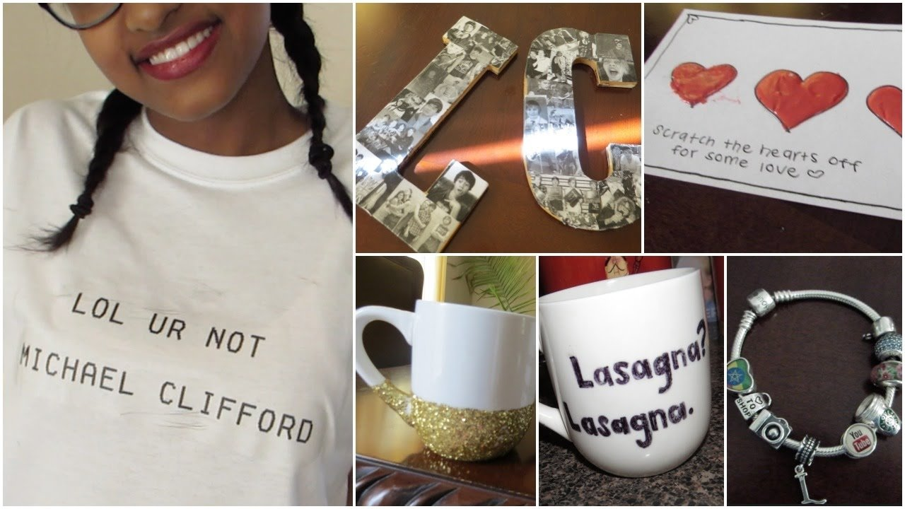 10 Elegant Cool Gift Ideas For Girlfriend cute easy diy tumblr inspired gift ideas youtube