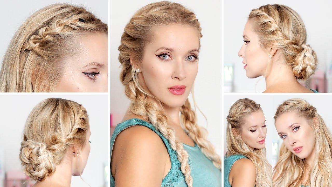 10 Stunning Easy Hair Ideas For Long Hair cute easy hairstyles for school medium long hair e29886 frisuren fur 2021