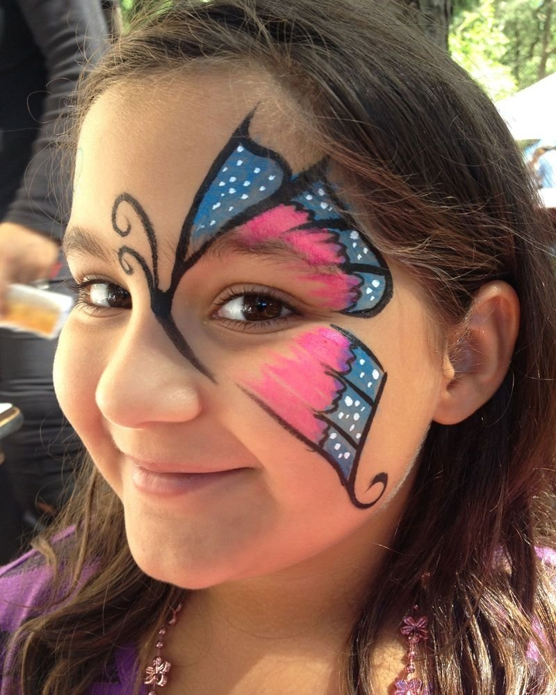 10 Famous Face Painting Ideas Step By Step cute face paint ideas paint inspiration face paint pinterest 4 2020