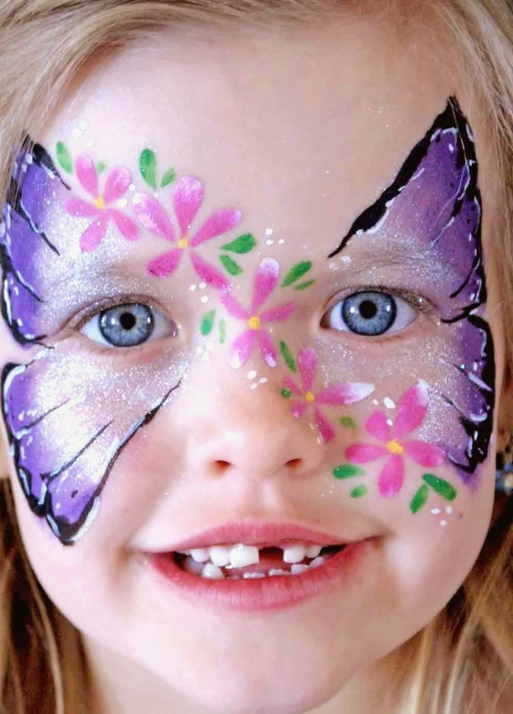 10 Lovely Face Paint Ideas For Girls cute face painting ideas for girls creative art and craft ideas 1 2020