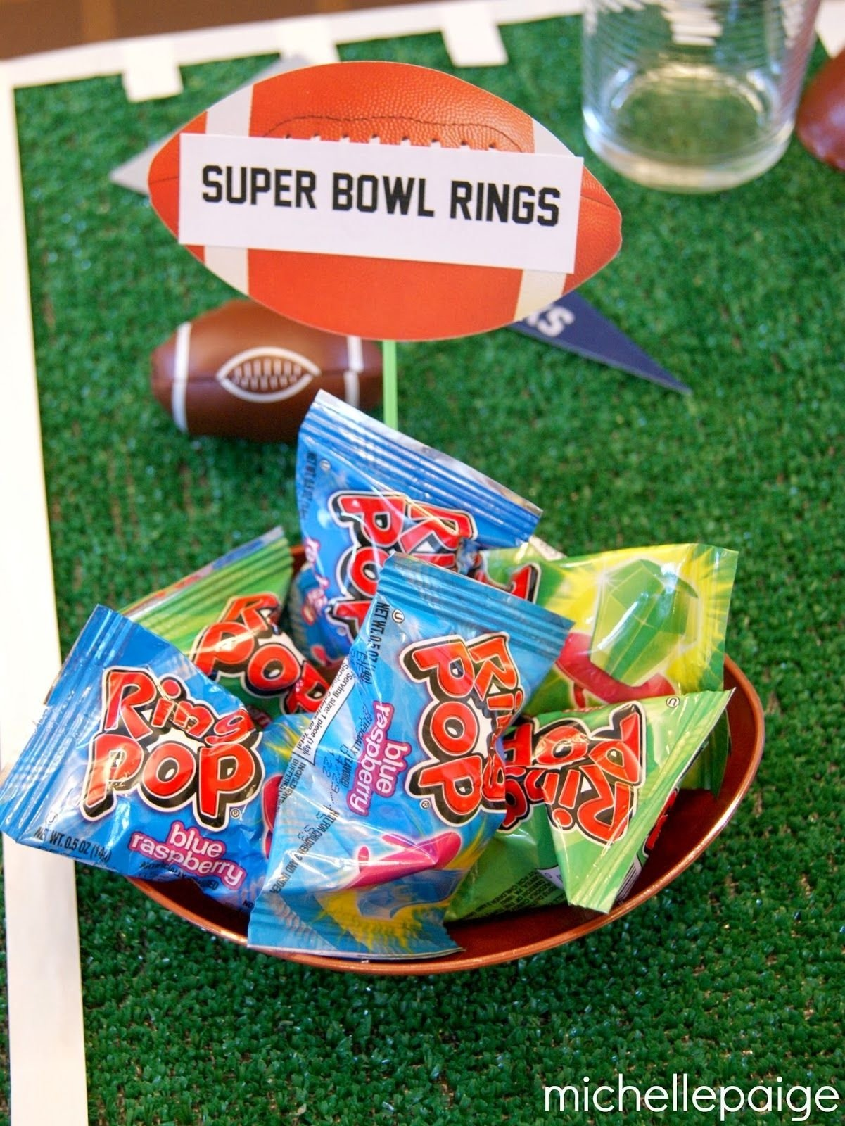 10 Stylish Football Party Ideas For Kids cute favor idea for football or super bowl party birthday party 1 2021