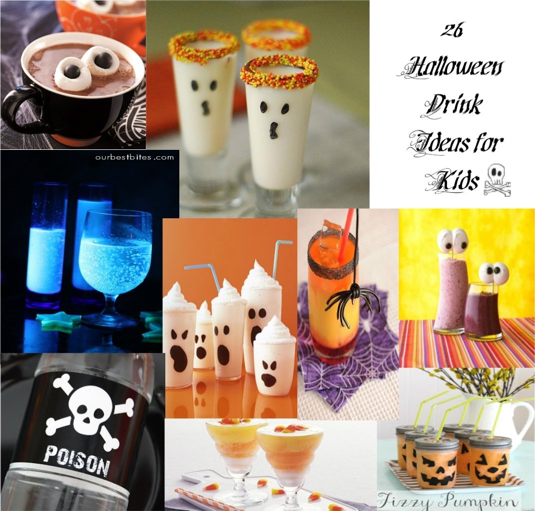 10 Amazing Halloween Drink Ideas For Kids cute food for kids 28 halloween drink recipes for kids 2021