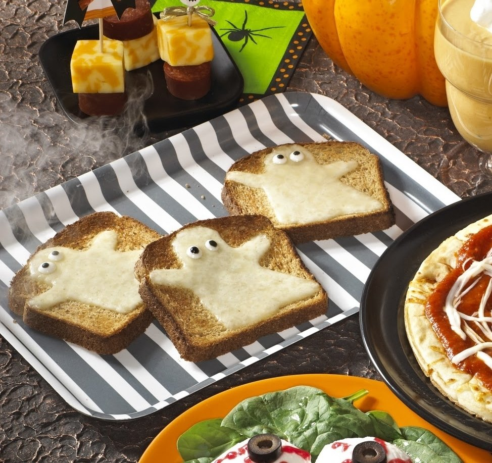 10 Awesome Halloween Baking Ideas For Kids cute food for kids 48 edible ghost craft ideas for halloween 3 2021
