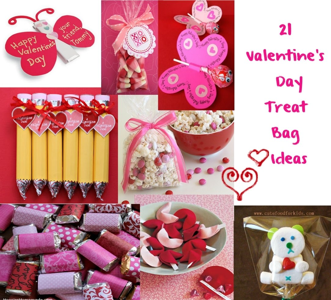 10 Nice Cute Ideas For Valentines Day cute food for kids valentines day treat bag ideas 1