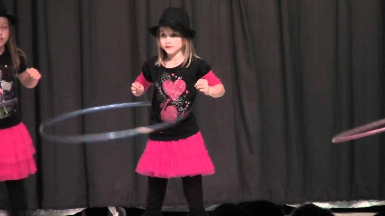10 Wonderful Talent Show Ideas For Kids cute girls perform hula hoop dance in talent show youtube 2020