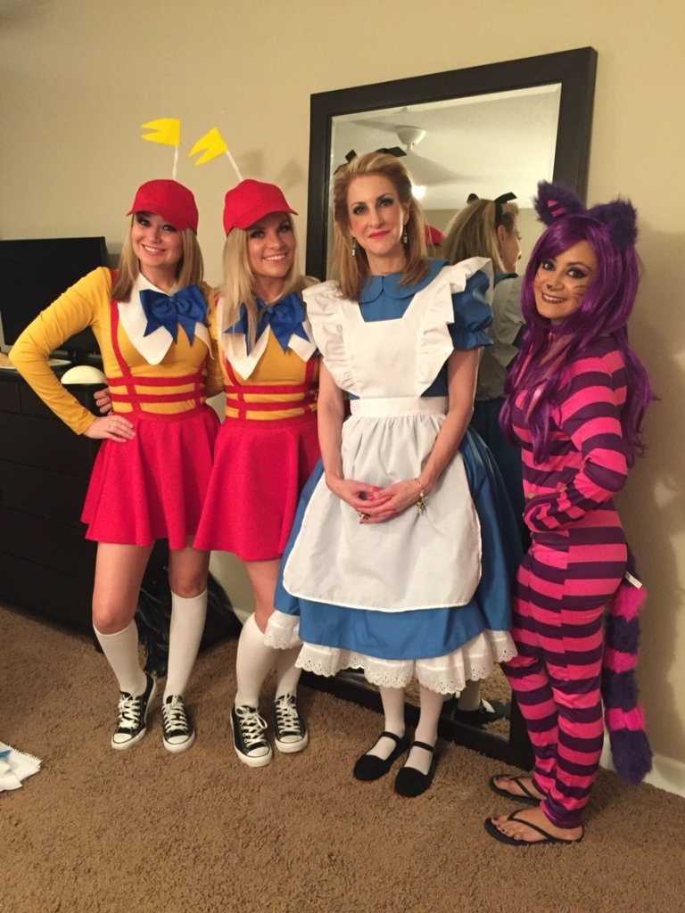 10 Lovely Group Halloween Costume Ideas For Girls cute group halloween costume ideas 1000 ideas about group costumes 1 2020