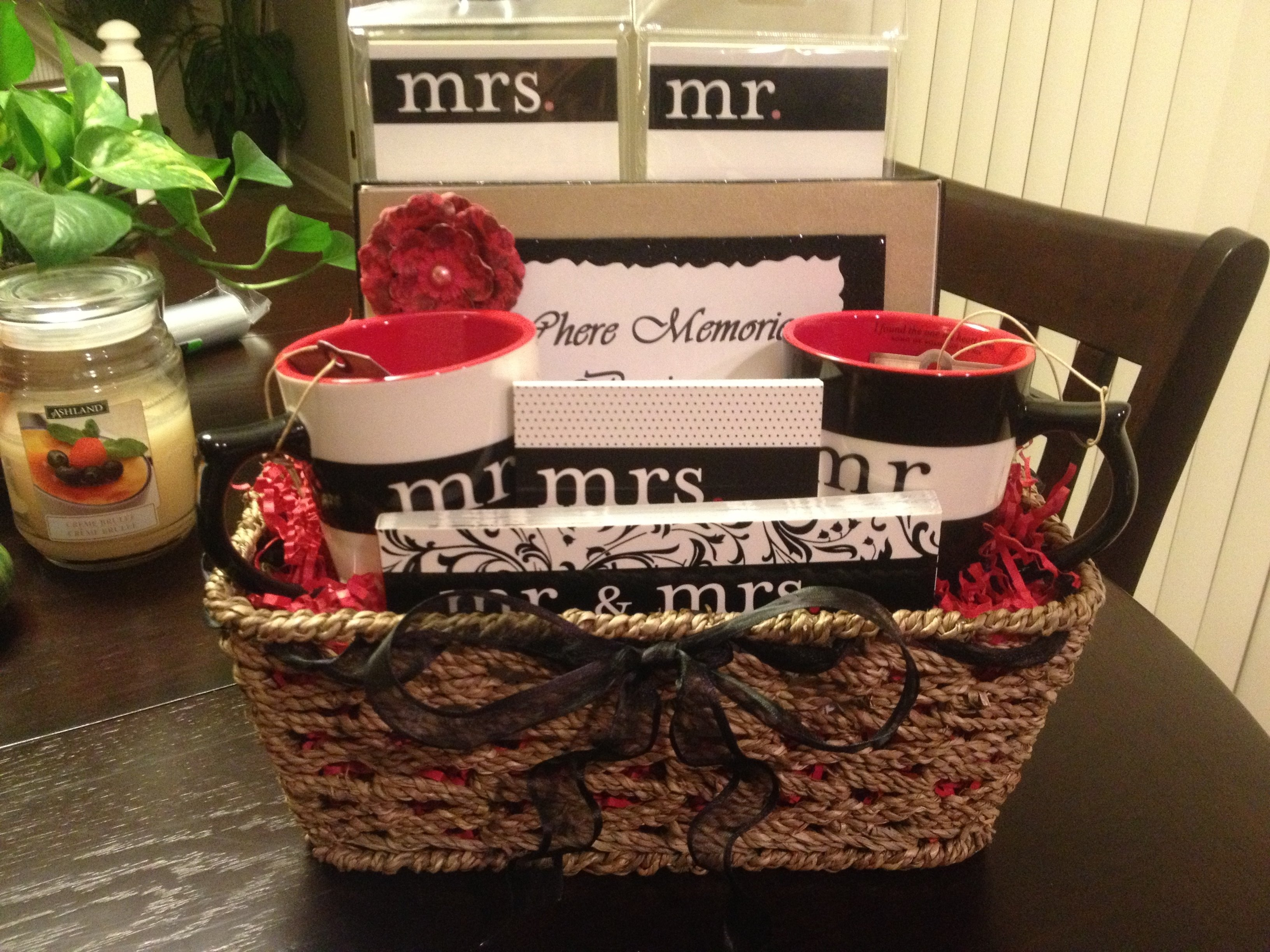 10 Awesome Wedding Shower Gift Basket Ideas cute homemade bridal shower gift basket the mr mrs gift items 1 2020