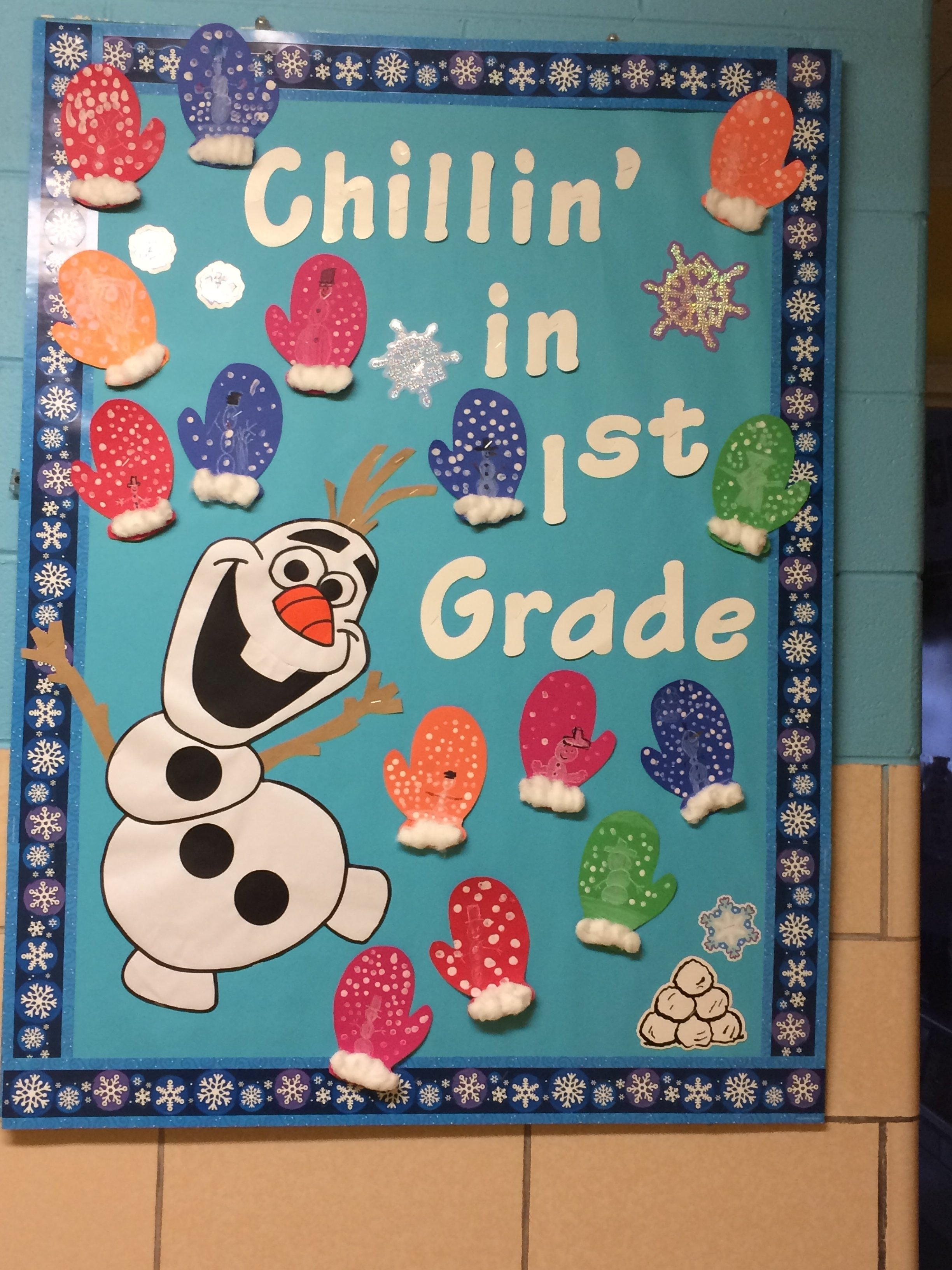 10 Best Winter Bulletin Board Ideas Preschool cute january board january pinterest january board and 3