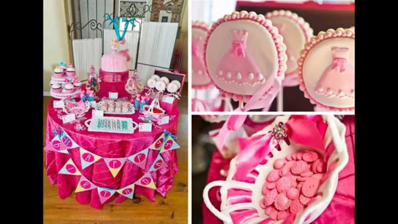 10 Stylish 11 Year Old Birthday Party Ideas For Girls cute little girl birthday party decoration youtube 6 2020