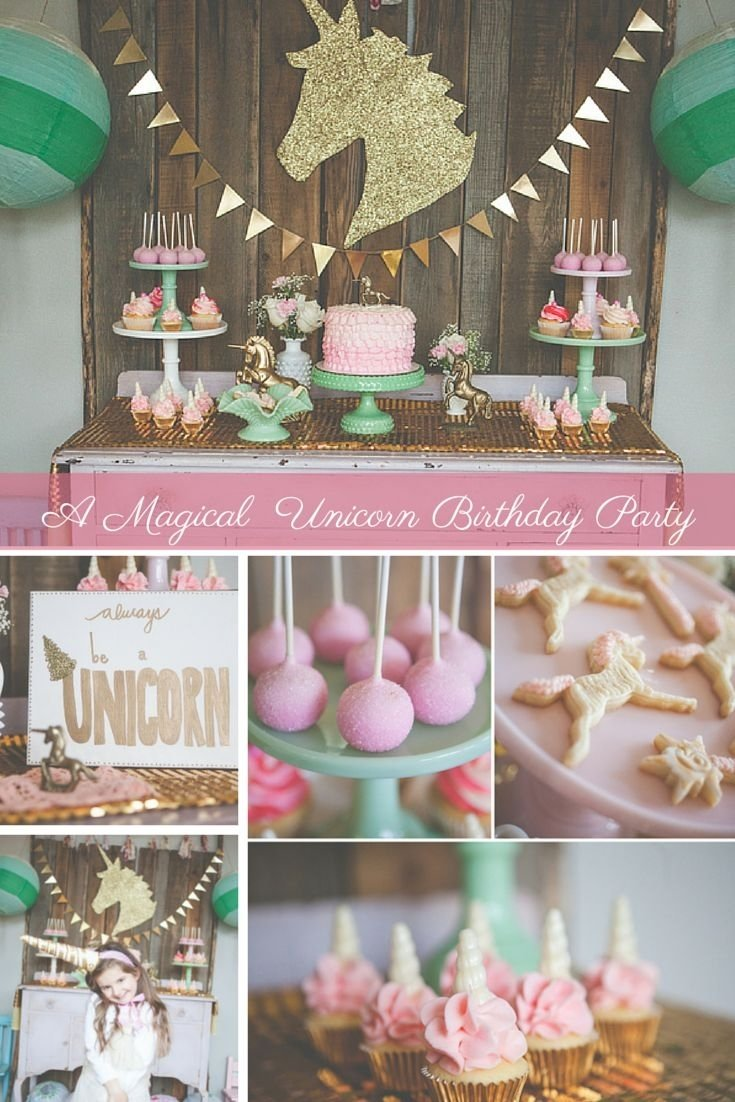 10 Wonderful Birthday Party Ideas For Little Girls cute little girl birthday party ideas top 25 ideas about unicorn 2020