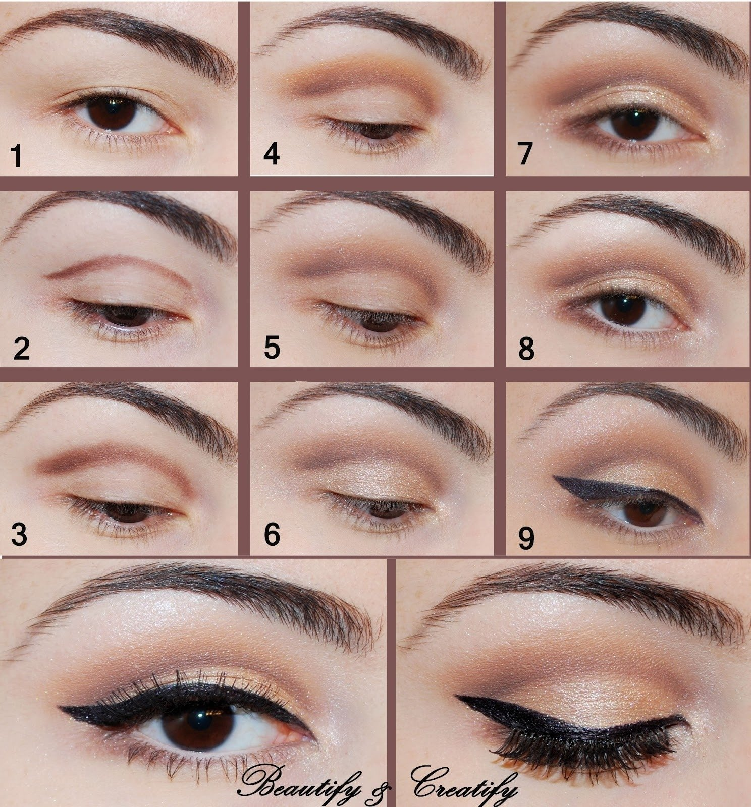 10 Awesome Cute Makeup Ideas For Brown Eyes cute makeup ideas for brown eyes makeup idea 2020