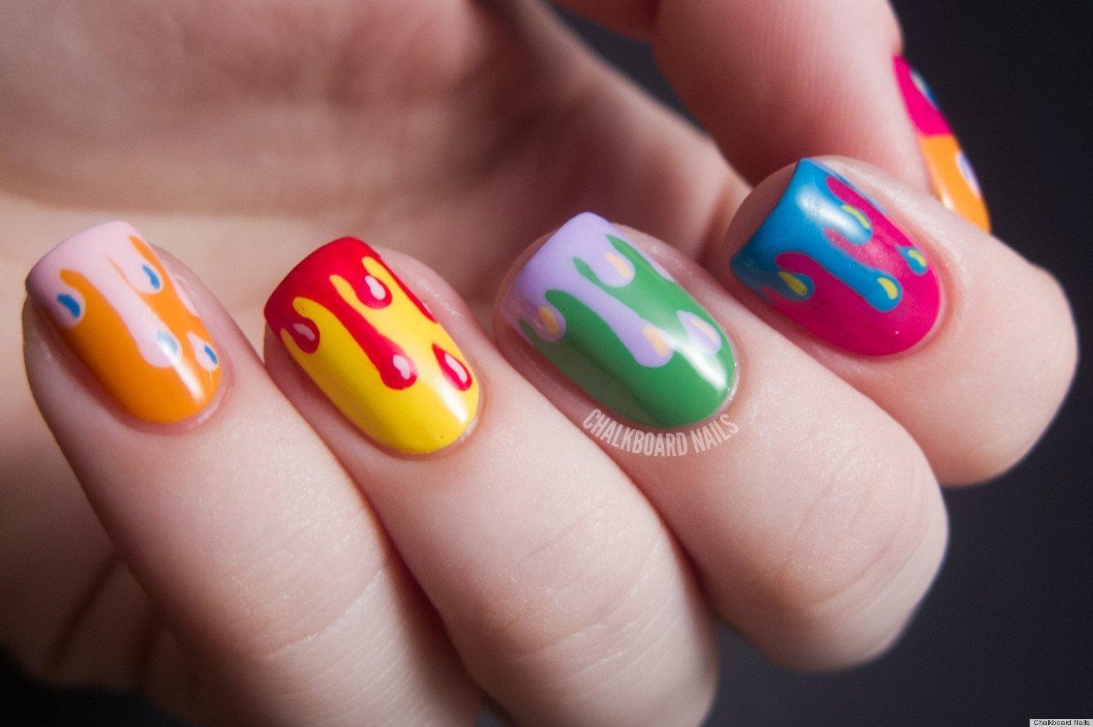 10 Nice Cute And Simple Nail Ideas cute nail designs for short simple nail designs home home design ideas 2021