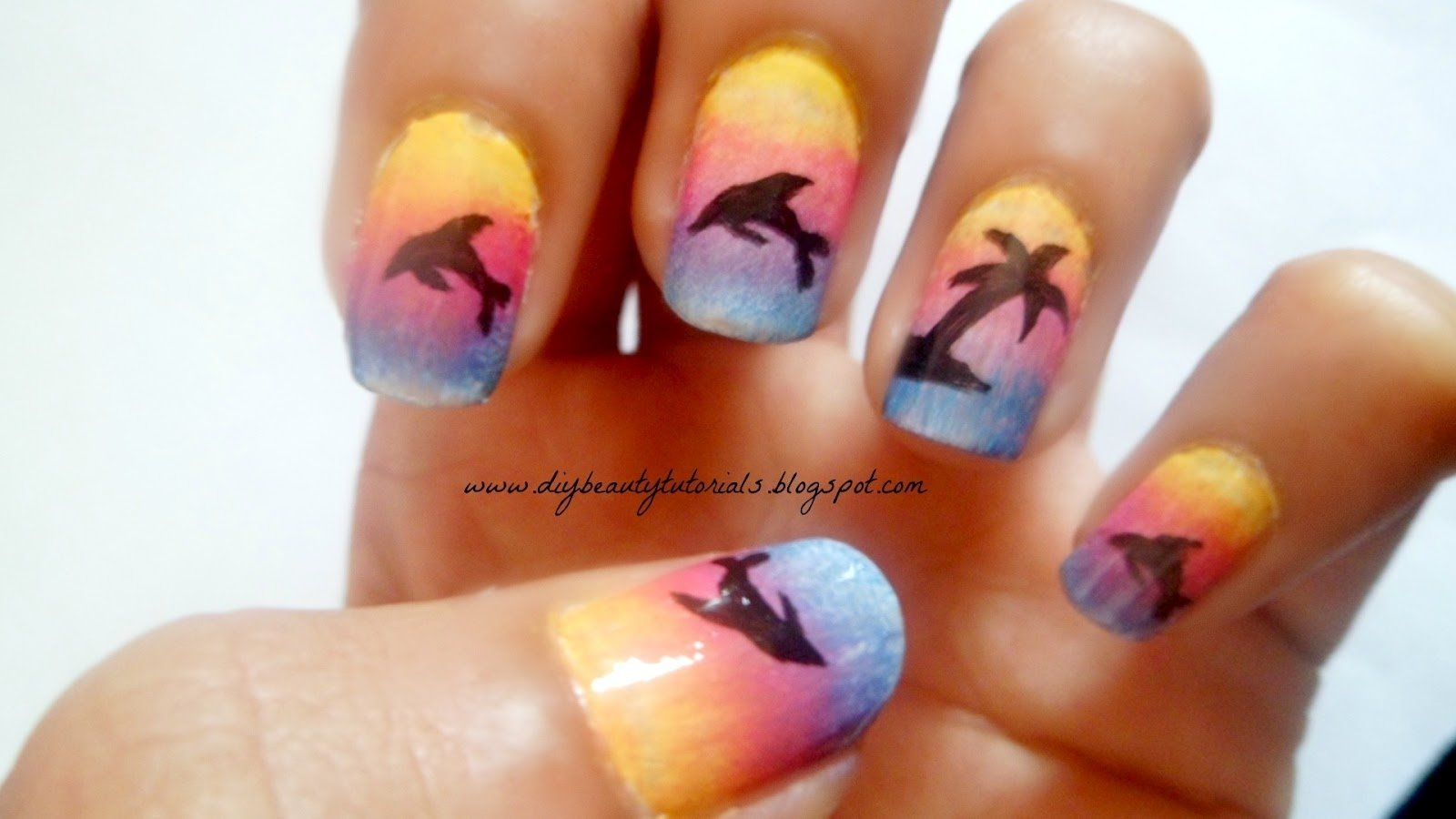 10 Stylish Easy Nail Ideas For Summer cute nail designs for summer how you can do it at home pictures 2020