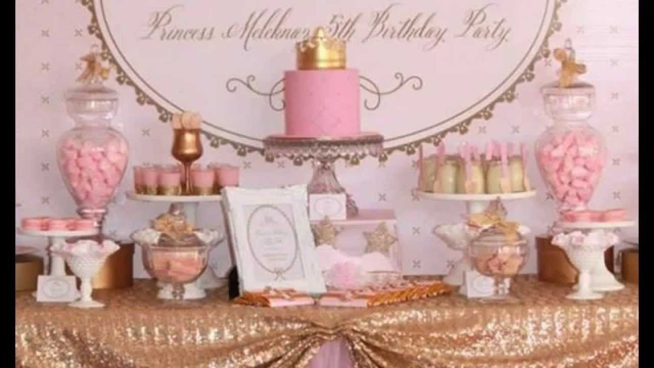 10 Stylish Princess Tea Party Birthday Ideas cute princess tea party decorations ideas youtube 2020