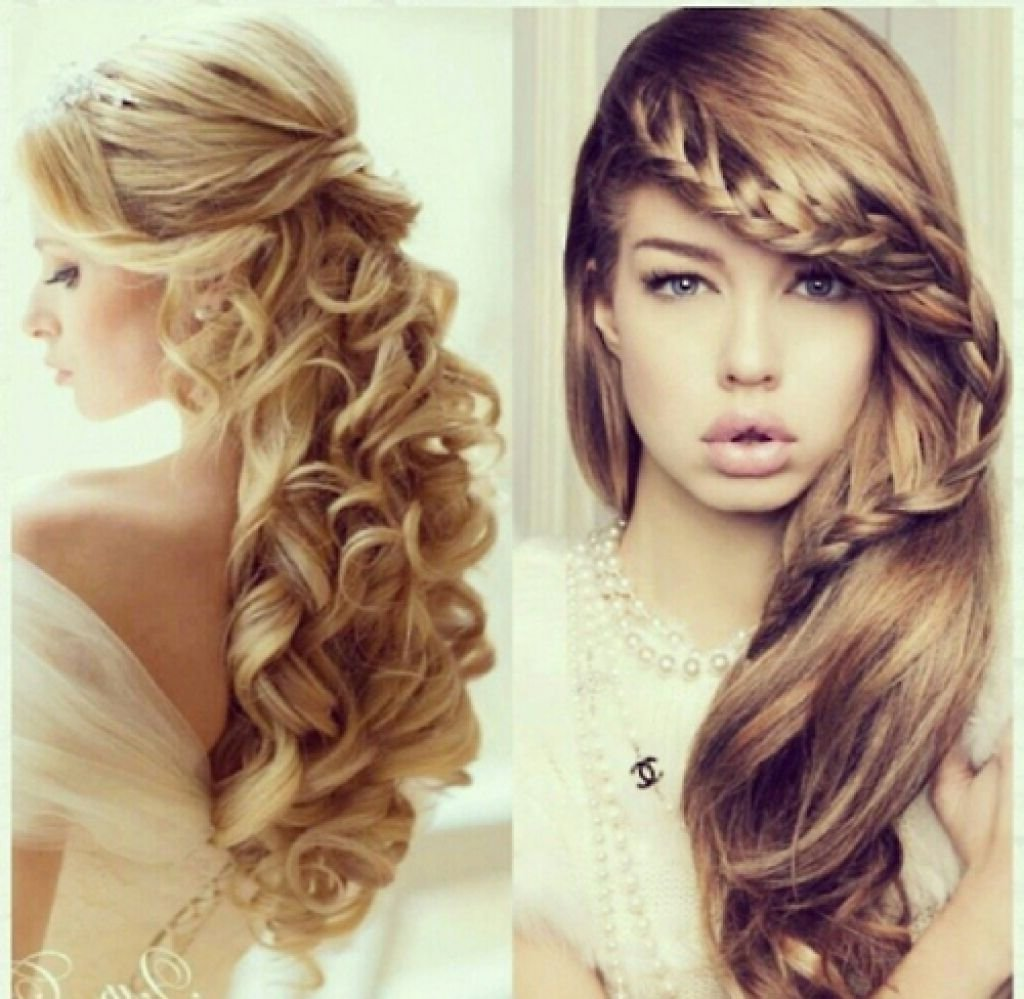 10 Most Recommended Homecoming Hair Ideas For Long Hair cute prom hairstyles for short hair popular long hairstyle idea 2 2020