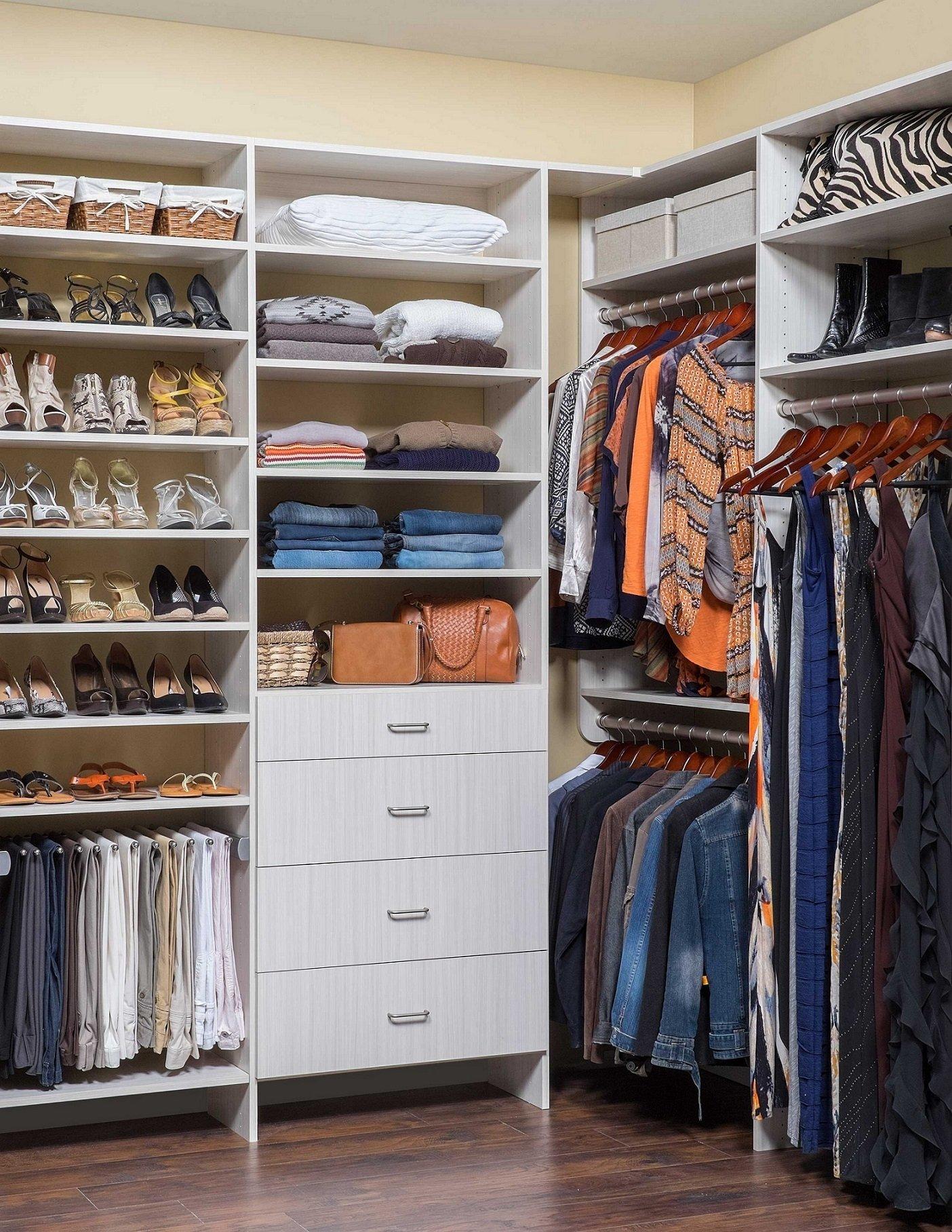 10 Stylish Small Walk In Closet Ideas cute small walk in closet ideas for women closets organizing small 2021