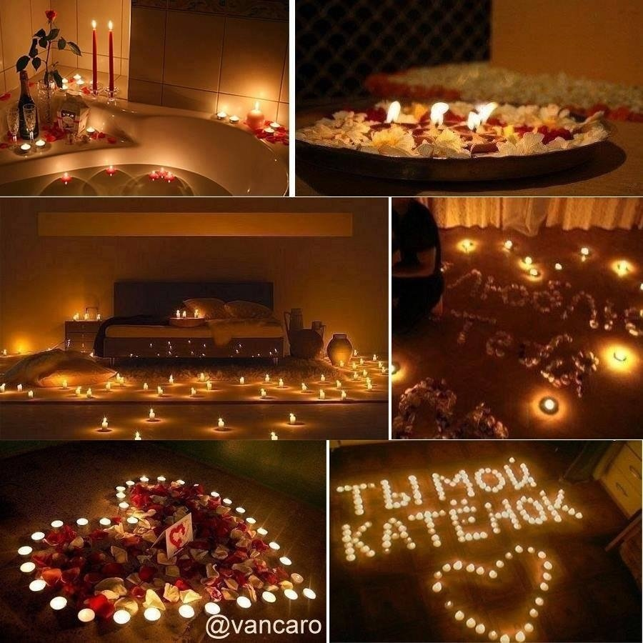 10 Wonderful Romantic Valentines Day Ideas For Him At Home