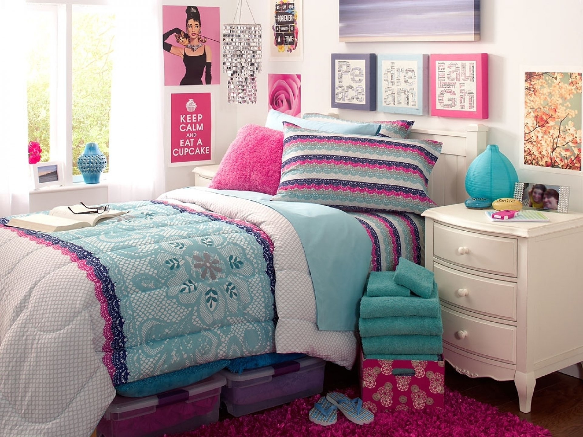 10 Fashionable Cute Bedroom Ideas For Teenage Girls cute teen bedroom ideas for girl teens room unique girls blue 2020