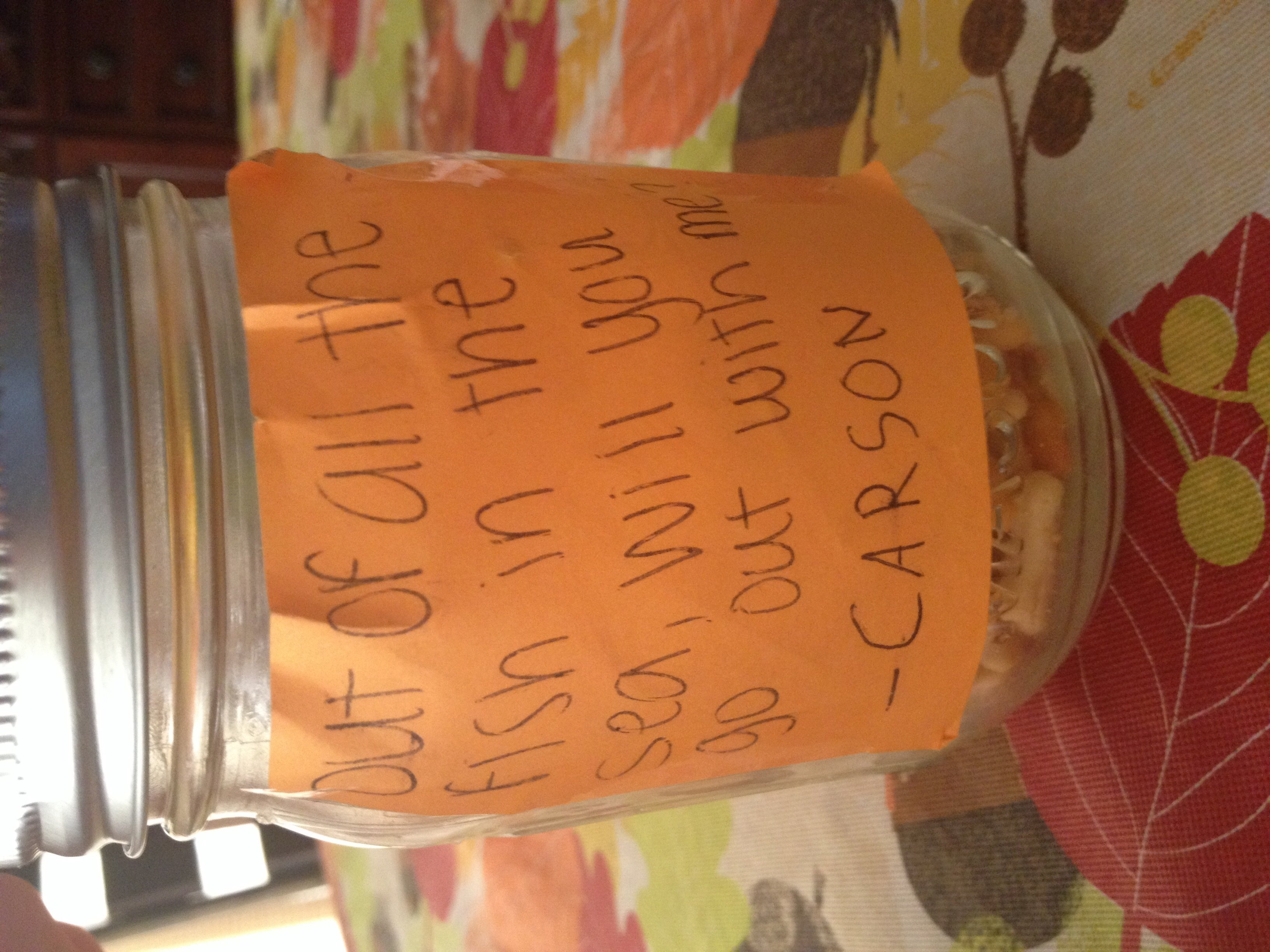 10 Most Popular Ideas To Ask A Girl Out cute way to ask a girl out jar filled with goldfish cute things 1 2021