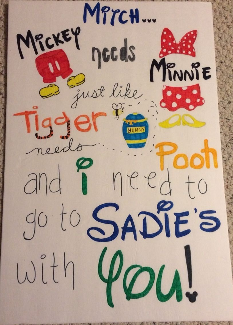 cute way to ask someone to sadie's ! | valentine's | pinterest