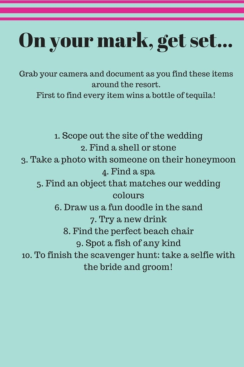 10 Awesome Photo Scavenger Hunt List Ideas cute wedding photo scavenger hunt list ideas collections photo and 2021