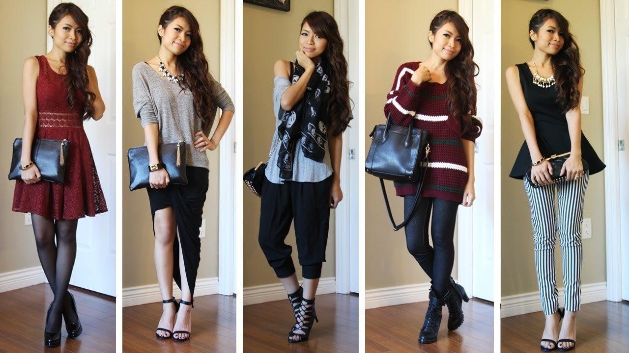10 Great Outfit Ideas For Winter 2013 cute winter outfits winter fashion autumn fashion fashionexprez 2020