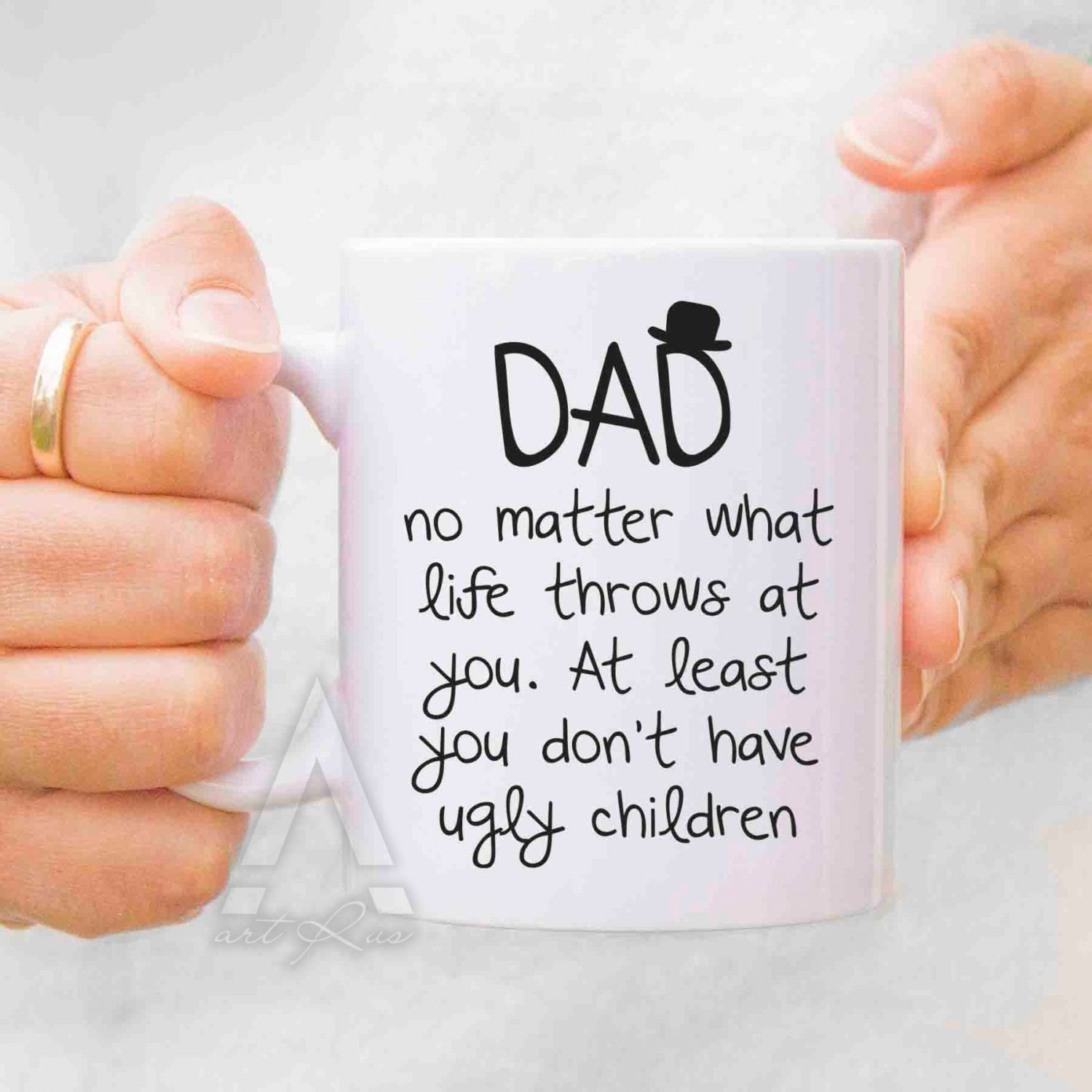 10 Best Christmas Gift Ideas For Dad From Daughter dad birthday gift fathers day gift from daughter fathers day mugs