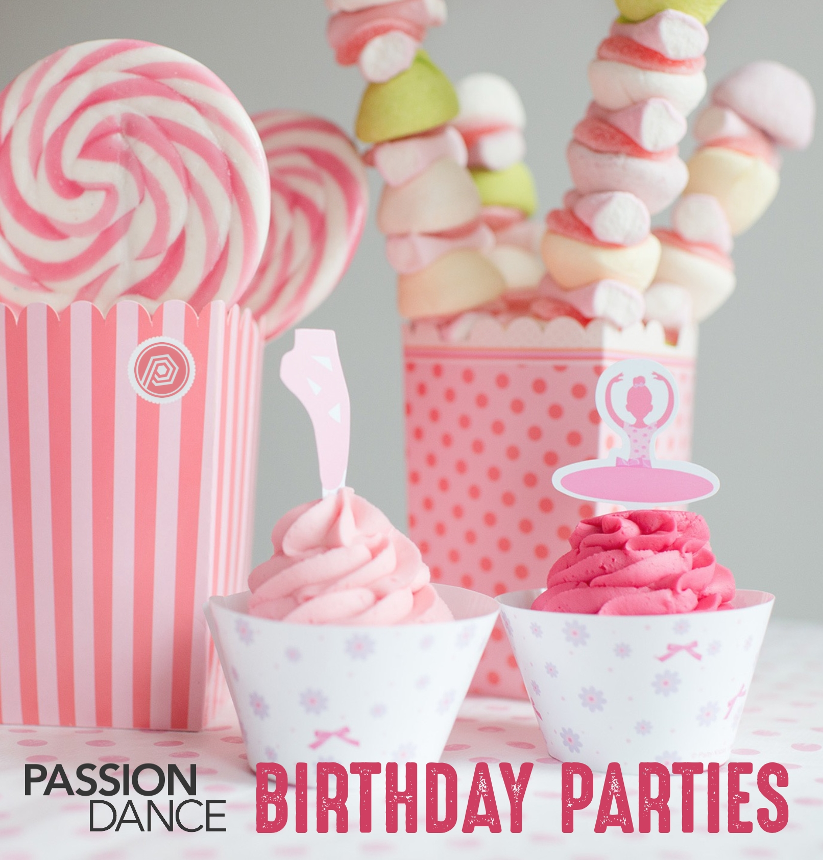 dance birthday party | passion academy