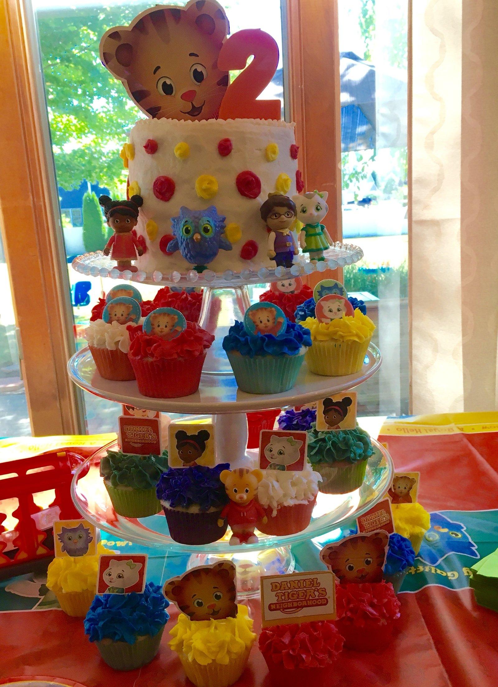 10 Famous Daniel Tiger Birthday Party Ideas daniel tiger birthday cake and cupcakes livias 2nd birthday 2020