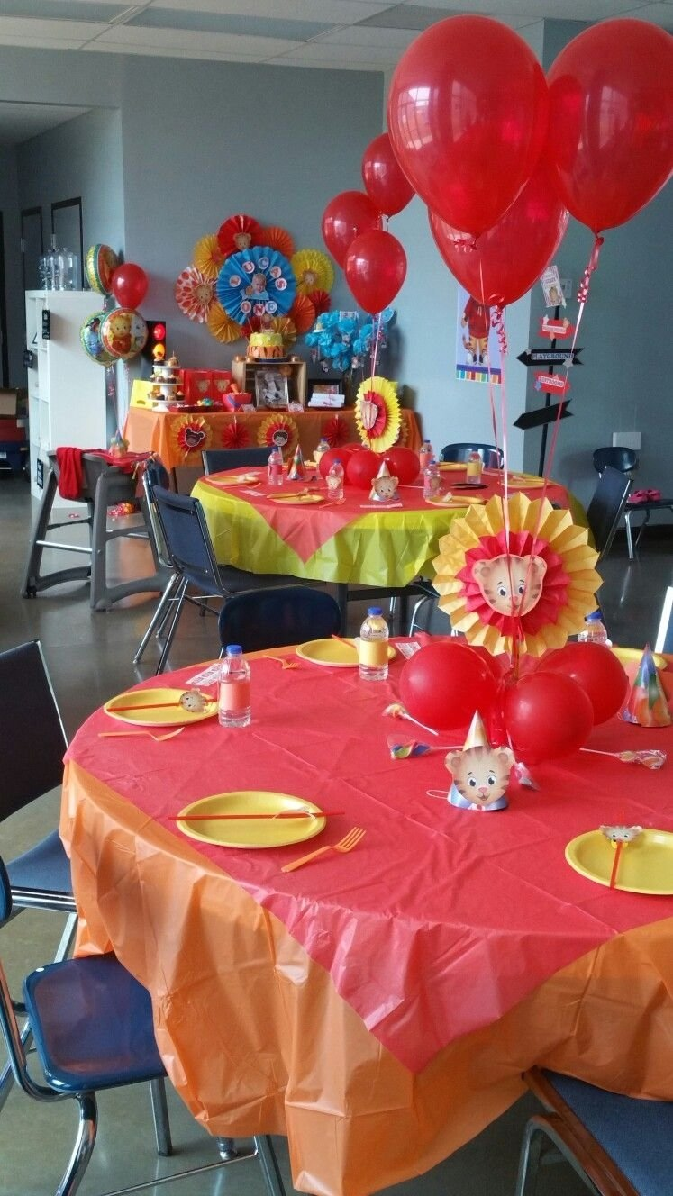 10 Famous Daniel Tiger Birthday Party Ideas daniel tiger birthday my daniel tiger birthday party pinterest 2021