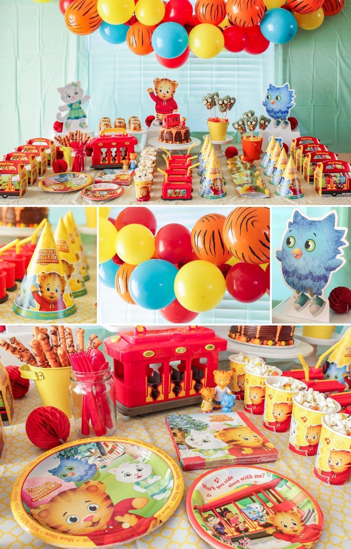 10 Famous Daniel Tiger Birthday Party Ideas daniel tiger decorations daniel tiger party ideas pinterest 2021
