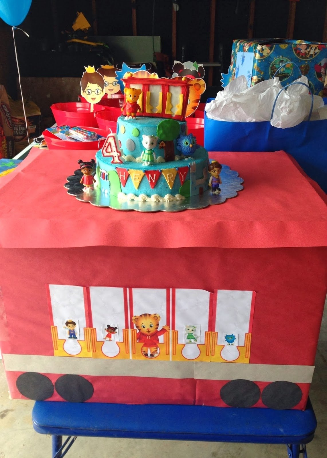 10 Famous Daniel Tiger Birthday Party Ideas daniel tiger dessert table google search party idea space 2021