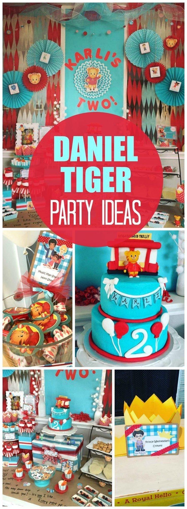 10 Stylish Ideas For Boys Birthday Party daniel tigers neighborhood birthday our little tiger turns 2