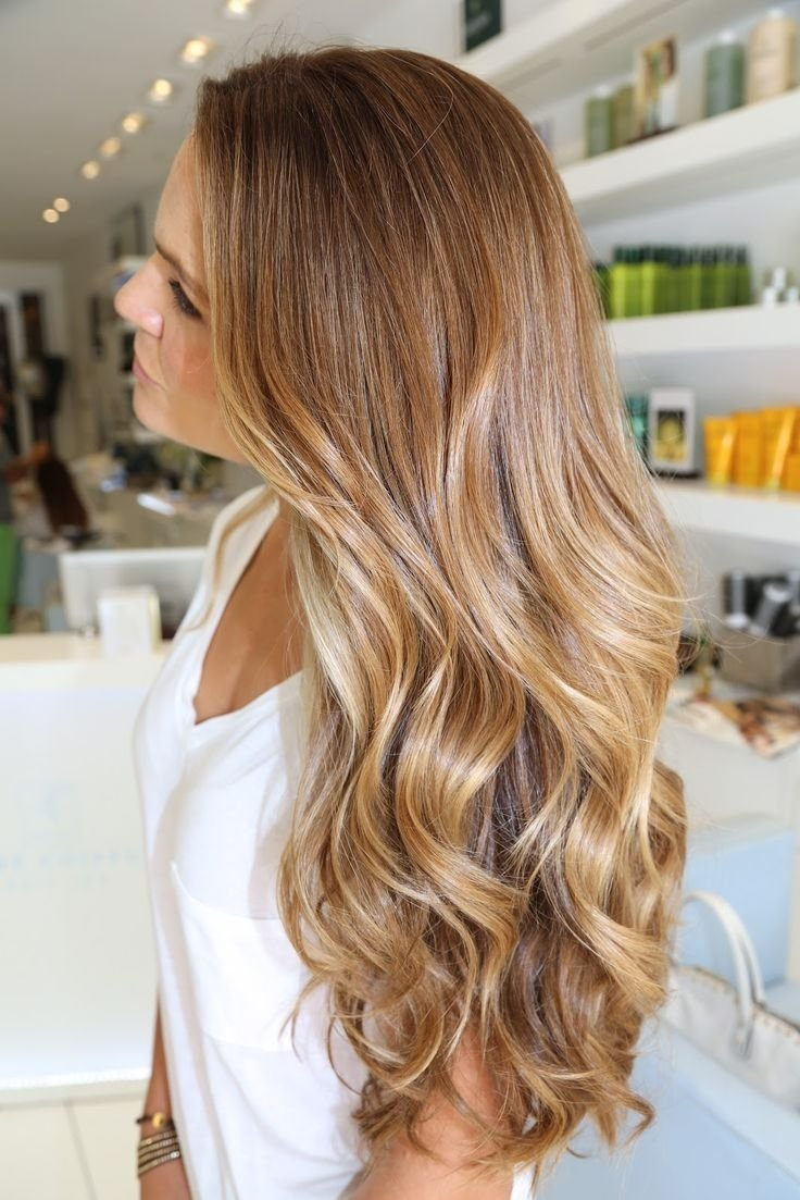 10 Attractive Brown & Blonde Hair Color Ideas dark blonde ombre hair color side view with beauty and makeup simple 2021