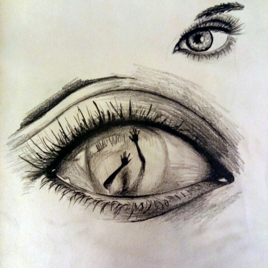 10 Attractive Ideas On What To Draw dark drawing ideas drawing art ideas