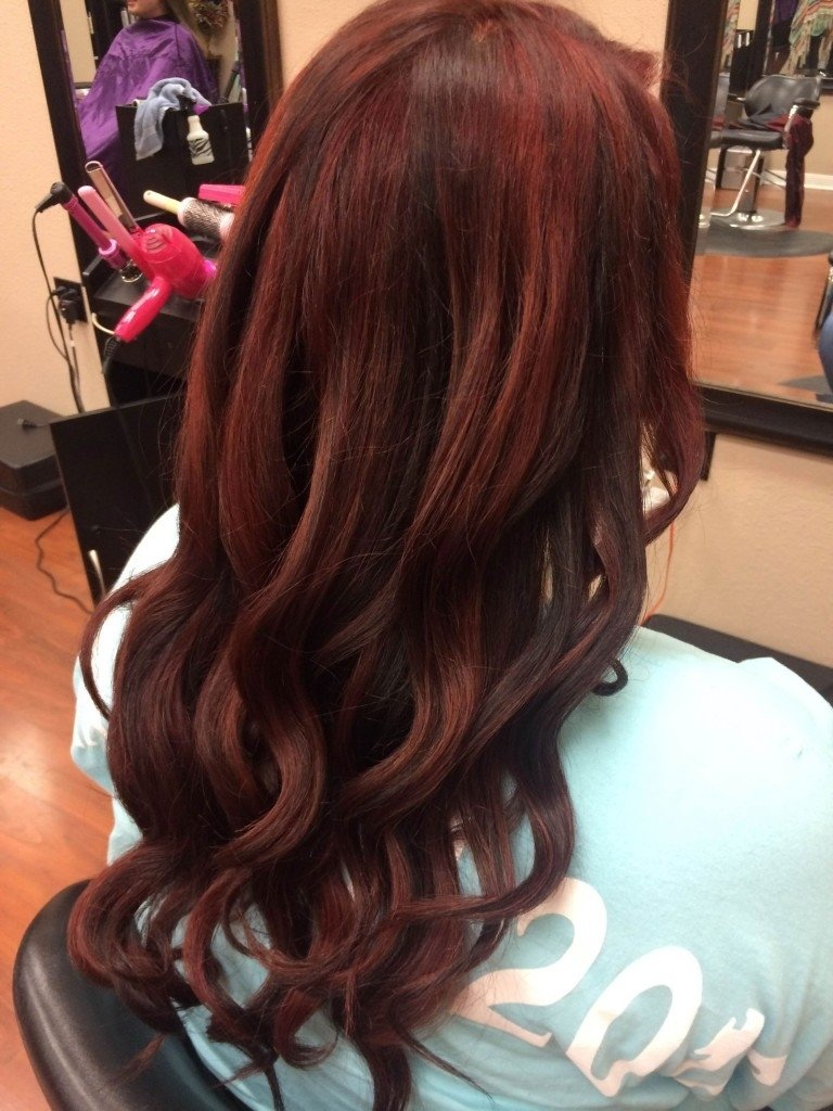 10 Lovable Brown And Red Hair Color Ideas dark red hair color 1 free hair color pictures 2020