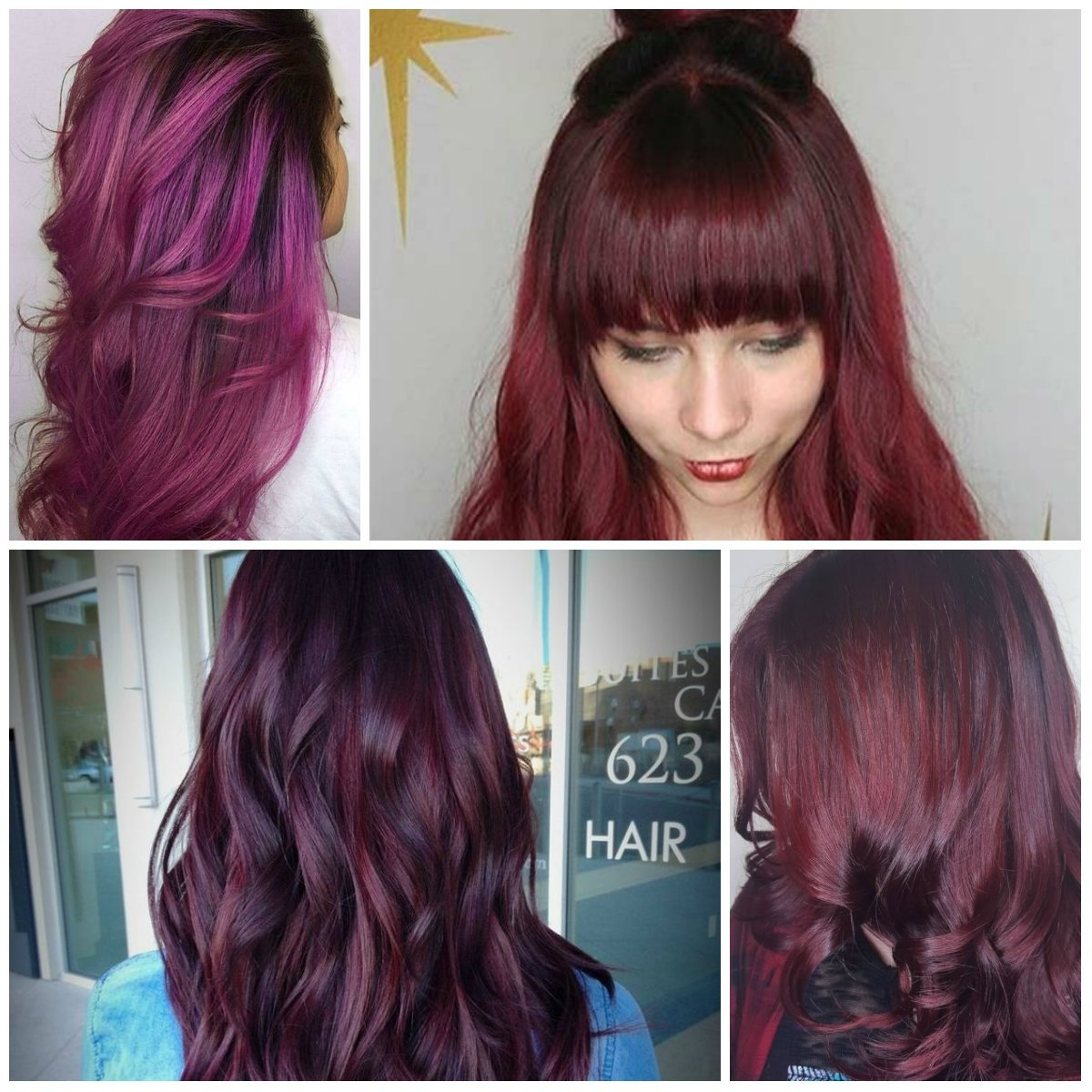 dark red hair color ideas – best hair color ideas & trends in 2017