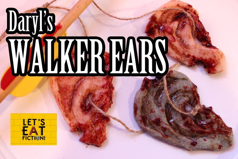 10 Unique Walking Dead Party Food Ideas daryls walker ear cookies the walking dead lets eat fiction